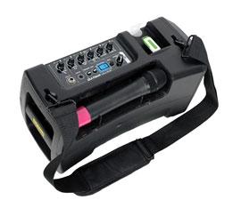 amplificatore portatile per musica e karaoke
